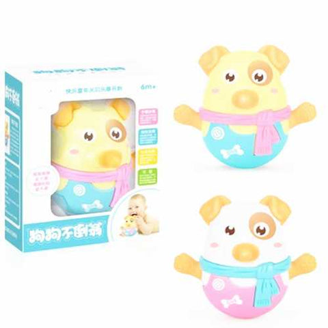 Tumbler Doll Baby Toys 3 Months With Shaking Nod Function Swe  Learning Education Toys Gifts