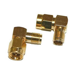 5 PCS SMA Male To Female Adapter Right Angle 90 Degree