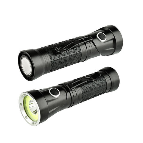 XANES 1305  T6+COB 1500Lumens Foldable Magnetic Tail LED Inspection Flashlight