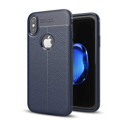 Bakeey™ Anti Fingerprint Soft TPU Litchi Leather Case Cover for iPhone X/7/8/7Plus/8Plus/6Plus/6sPlus