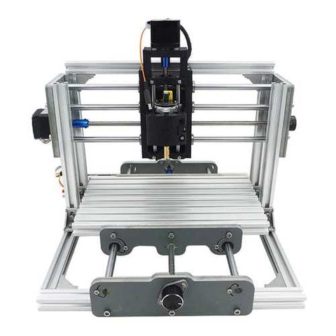 2417 3 Axis Mini DIY CNC Router Wood Craving Engraving Cutting Milling Desktop Engraver Machine 240x170x65mm
