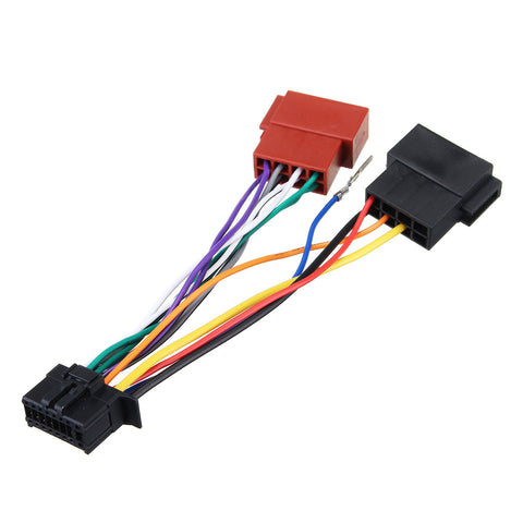 Car Stereo Radio Player ISO Wiring Harness Connector 16Pin for Pioneer 2003-on