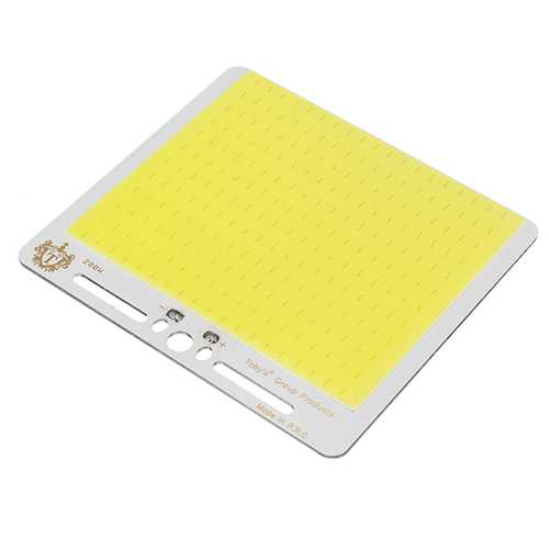 Super Bright DC12V 30W COB LED Chip 130X120mm for DIY Flood Light Outdoor Camping Lamp