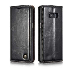 Caseme Magnetic Flip Wallet Kickstand Case For Samsung Galaxy S8/S8 Plus