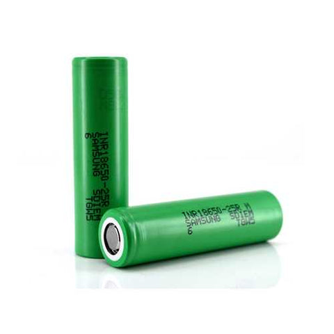 1PCS 3.6V INR18650-25RM 2500mAh High Drain Li-ion Rechargeable Battery For Samsung