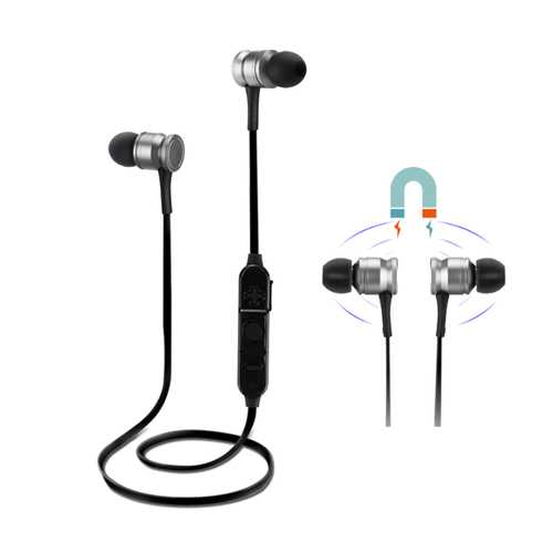 G3 Sport Magnetic Adsorption Strong Bass Wired Control bluetooth Earphone With Mic