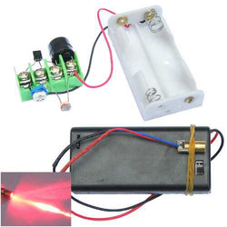 DIY Infrared Laser Aiming Anti-theft Burglar Alarm Module Kit