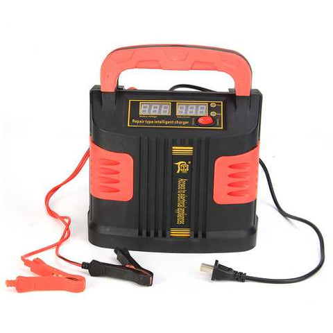 12/24V Jump Starter Emergency Charger Booster Power Bank Pulse Repair Device