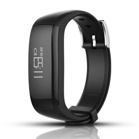 Bakeey D6 Heart Rate Monitor USB Plug Detachable Dial Smart Wristband for Mobile Phone