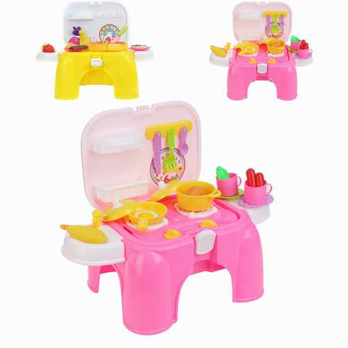 Kitchen Cooking Pizza Toy Set Preschool Toys Pretend Playset Suit Children Gift