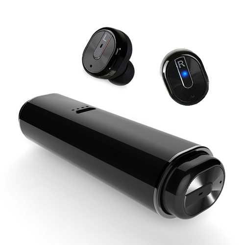 [Truly Wireless] S3 Mini Portable High Fidelity Dual Bluetooth Earphone With Charger Box