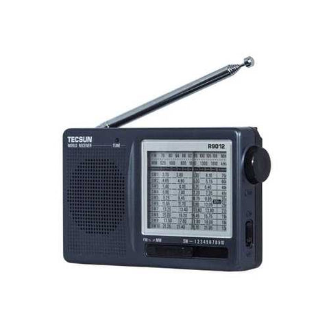 TECSUN R-9012 Multiband 12 Band FM/AM/SW Portable Y4122H High Sensitivity Radio Receiver
