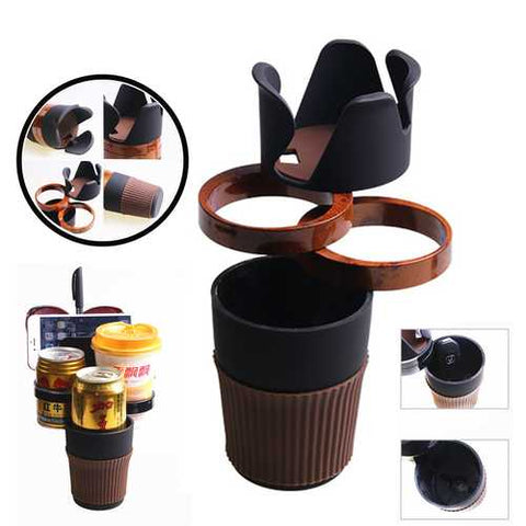 Universal Multifunctional ABS Lightweight Car Mount Phone Holder Bottle Drinks Holder