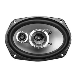 2Pcs 12V 1000 Watts 6x9 Inch 3-Way Twin Tone Car Door Shelf Coaxial Speakers