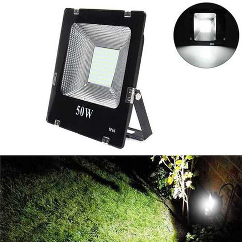 50W SMD5630 LED Aluminium Flood Light Outdoor IP66 Waterproof Yard Garden Landscape Lamp AC180-265V