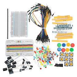 Resistor Buzzer Breadboard LED Dupont Cable Electronic Element Starter Kits