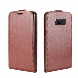 Bakeey Flip Card Slot PU Leather Bag Case for Samsung Galaxy S8 Plus