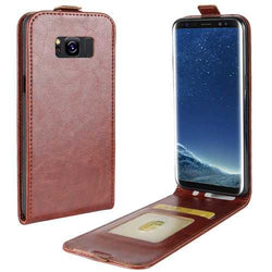 Bakeey Flip Card Slot PU Leather Bag Case for Samsung Galaxy S8