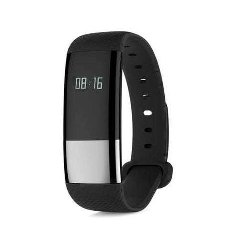 Bakeey M5 Heart Rate Blood Pressure Oxygen Monitor Pedometer Smart Bracelet For iphoneX 8 Sasmung S8