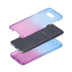 Gradient Color 360° Full Protective TPU Case for Samsung Galaxy S8 Plus
