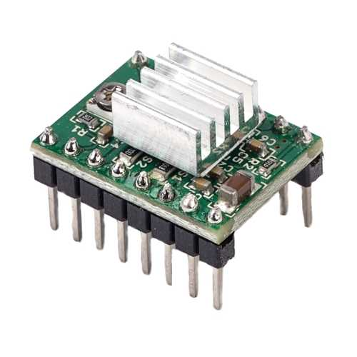 FLSUN® 2PCS A4988 Reprap Stepper Motor Driver Module With Heatsink For 3D Printer