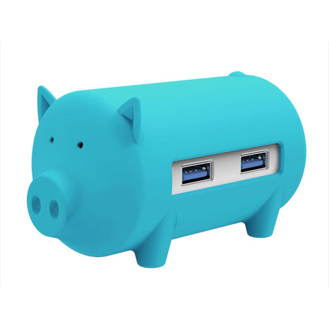 ORICO H4018-U3 Litte Pig 3-Port USB 3.0 Hub with SD TF Card Reader