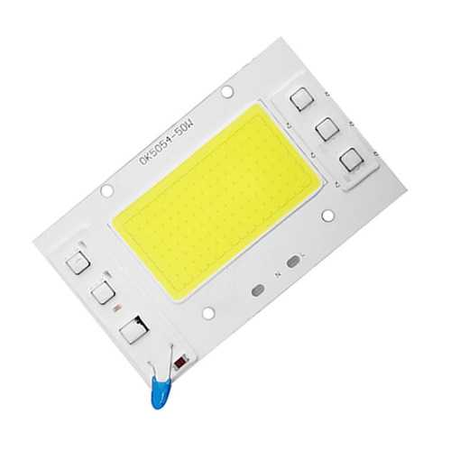 High Power AC220V 50W White/Warm White COB LED Light Chip DIY for Spotlight Floodlight