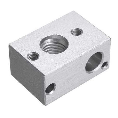 MK10 Aluminum Alloy PT100 Heating Block For 3D Printer