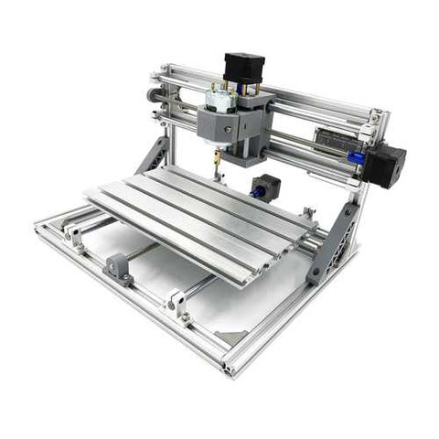 3018 3 Axis Mini DIY CNC Router w/ 2500mW Laser Module Wood Engraving Cutting Milling Engraver