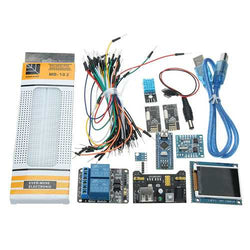 Nano V3 Climate Monitor Kit With 1.8 Inch TFT GY-68 BMP180 DHT11 RTC Relay Module For Arduino