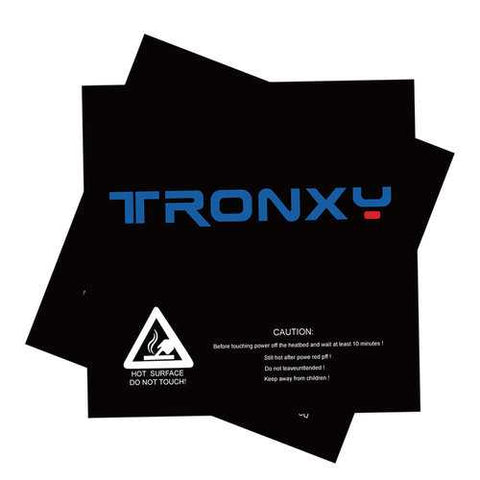 5Pcs TRONXY? 210*200mm Scrub Surface Hot Bed Sticker For 3D Printer