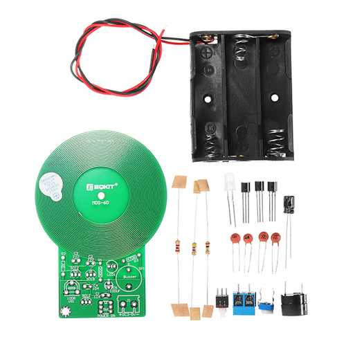 5Pcs DIY Metal Measure Kit Electronic DIY Soldering Exercise Board