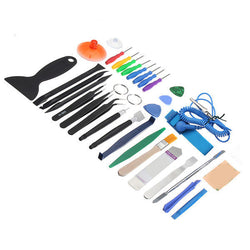 34Pcs Universal Screen Removal Professional Opening Repair Tool Kit Pry For Tablet Smartphone