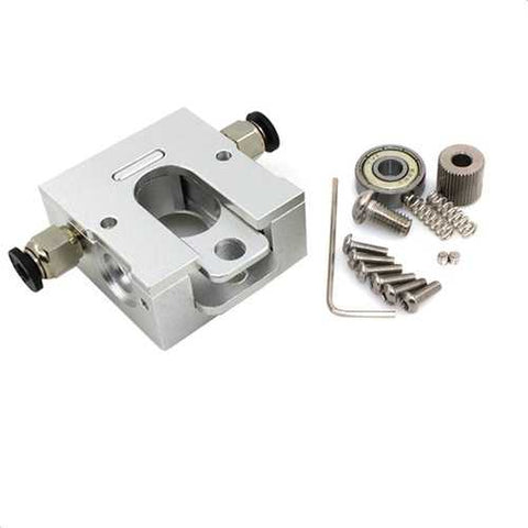 DIY 1.75mm Remote Proximity All-Metal Reprap Bulldog Extruder for 3D Printer