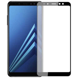 Soft Curved Edge Tempered Glass Phone Screen Protector for Samsung Galaxy A8 Plus 2018