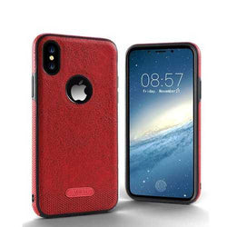 Business Leather Pattern Soft TPU Case For iPhone X/8/8 Plus/7/7 Plus/6s/6s Plus/6/6 Plus