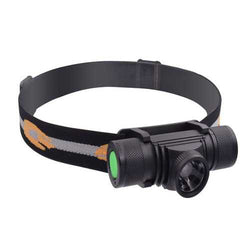 XANES D20 600LM XPG2 LED 6 Modes Zoomable Stepless Dimming USB Charging Interface IPX6 Waterproof Cycling Headlamp 18650