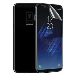 Curved Edge Clear Soft PET Phone Screen Protector for Samsung Galaxy S9