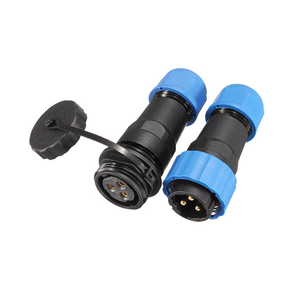 1 Pair Waterproof Aviation Connector Plug with Socket SD20-3 3 Pin IP68 F3F7 O5P3