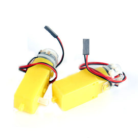 KittenBot® 2Pcs 5V 200RPM TT DC Geared Motor for DIY Arduino Smart Robot Part