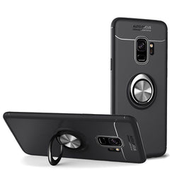 C-KU 360 Rotating Ring Grip Kicktand Protective Case For Samsung Galaxy S9/S9 Plus