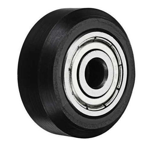 5mm POM Black Idler D Type Wheel Wheels CNC Engraving Millling Machine Accessories