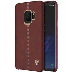 NILLKIN Englon Crazy Horse Grain Leather Protective Case for Samsung Galaxy S9