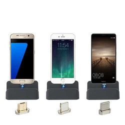 Bakeey Type C Magnetic Fast USB Charger Charging Dock For Oneplus 5t Xiaomi Mi6 Mi A1 Mix 2S S9+