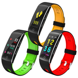 Bakeey F10 0.96OLED Color Screen Heart Rate Monitor IP68 Fitness Tracker Smart Bracelet