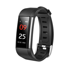 Bakeey W200 0.96inch Blood Pressure Heart Rate Monitor Fitness Tracker Sport Smart Wristband