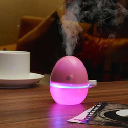 USB LED Night Light Humidifier Purifier
