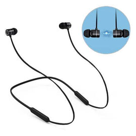 Magnetic Adsorption Neckband Wireless bluetooth Earphone IPX5 Waterproof 3D Stereo Bass Headphone