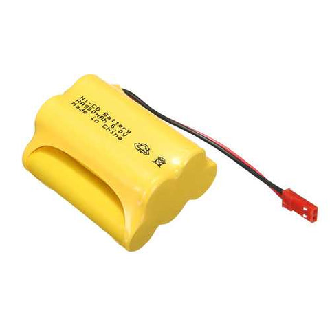 Ni-Cd 6V 900mAh JST-SYP Plug Rechargeable Battery Solar Light For Racing Remote Control Car