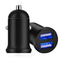 CHILCAR M15plus Aluminum Alloy Dual USB Support OPPO VOOC/Huawei FCP SCP/QC3.0 Fast Car Charger